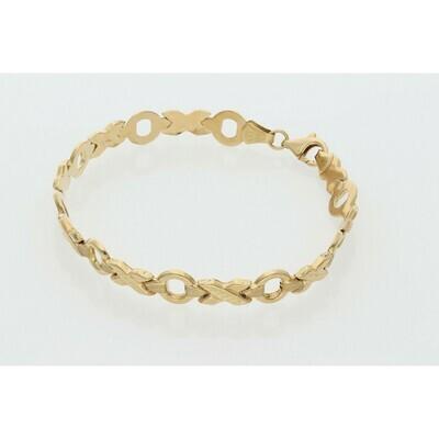 10 Karat Gold XOXO Bracelet