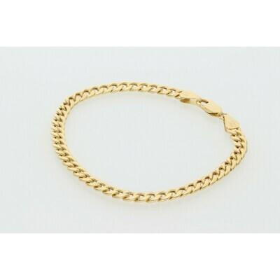10 Karat Gold Miami Cuban Link Bracelet 4 Millimeters