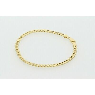 10 Karat Gold Miami Cuban Link Bracelet 3 Millimeters