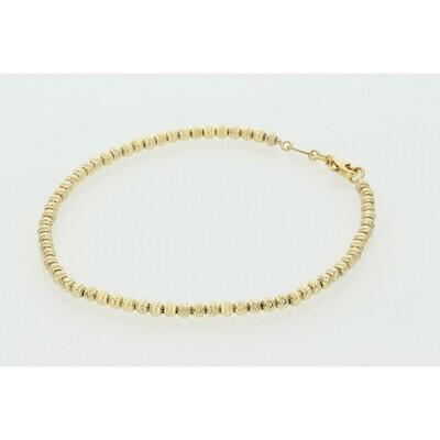 10 Karat Gold Moon Bracelet