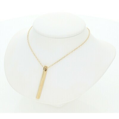 14 Karat Gold Fancy ID Rollo Necklace