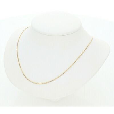 10 Karat Gold Box Chain