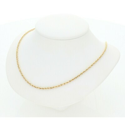 10 Karat Gold Rope Chain