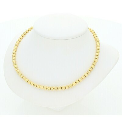 10 Karat Gold Moon Chain