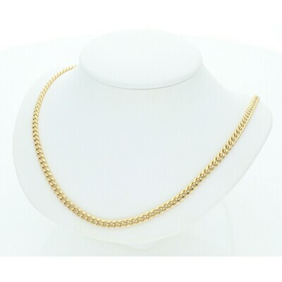 10 Karat Gold Miami Cuban Link Chain 3 Millimeters