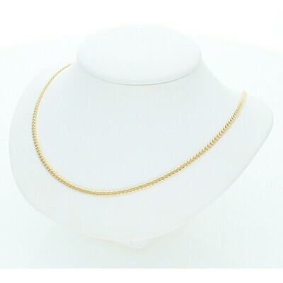 10 Karat Gold Miami Cuban Link Chain 2 Millimeters