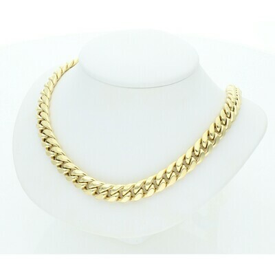 10 Karat Gold Miami Cuban Link Chain 8 Millimeters
