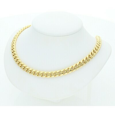 10 Karat Gold Miami Cuban Link Chain 6 Millimeters