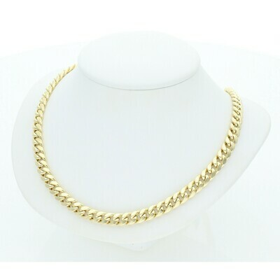 10 Karat gold Miami Cuban Link Chain 5 Millimeters