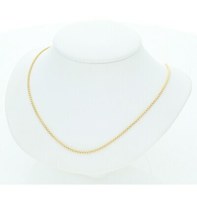 10 Karat Gold Venetian Chain