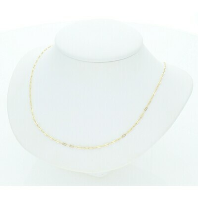 10 Karat Gold Rollo Chain
