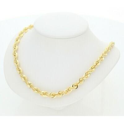 10 Karat Gold Quint Rope Chain