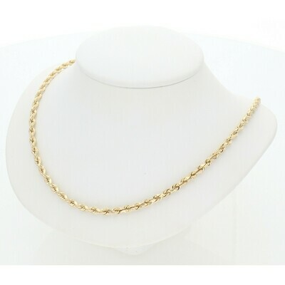 14 Karat Gold Rope Chain
