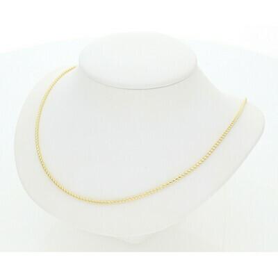 10 Karat Gold Franco Chain 1 Millimeter