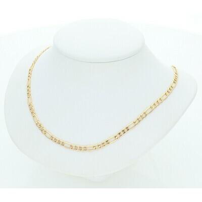 14 Karat Gold Figaro Chain