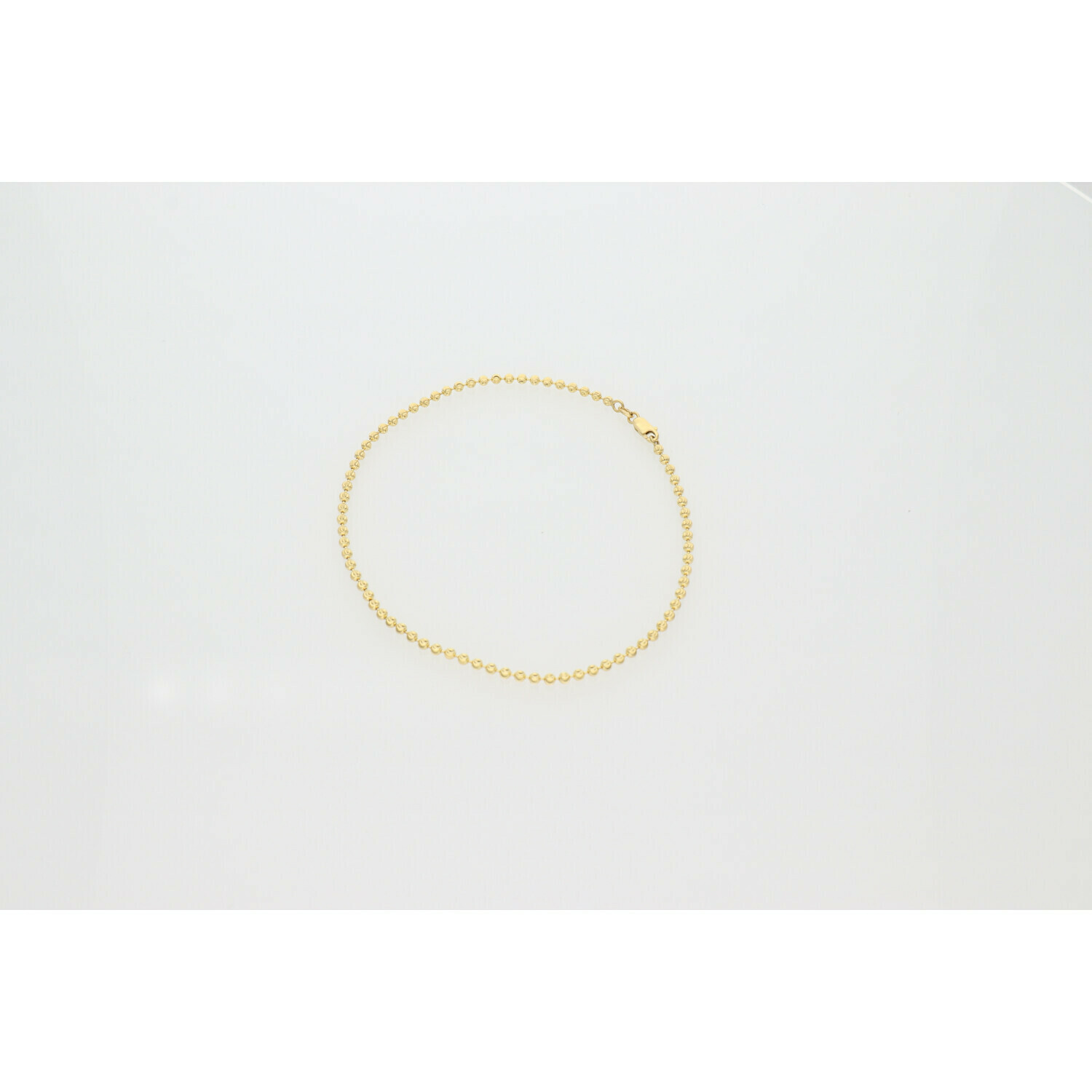 10 Karat Gold Moon Anklet