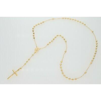 10 Karat Gold Rosary