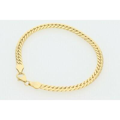 14 Karat Gold Italian Miami Cuban Link Bracelet