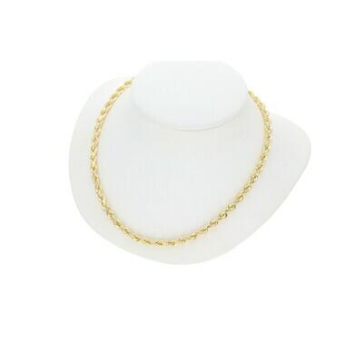 10 Karat Gold Queen Rope Chain