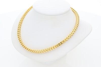 10 Karat Gold Franco Chain 4 Millimeters