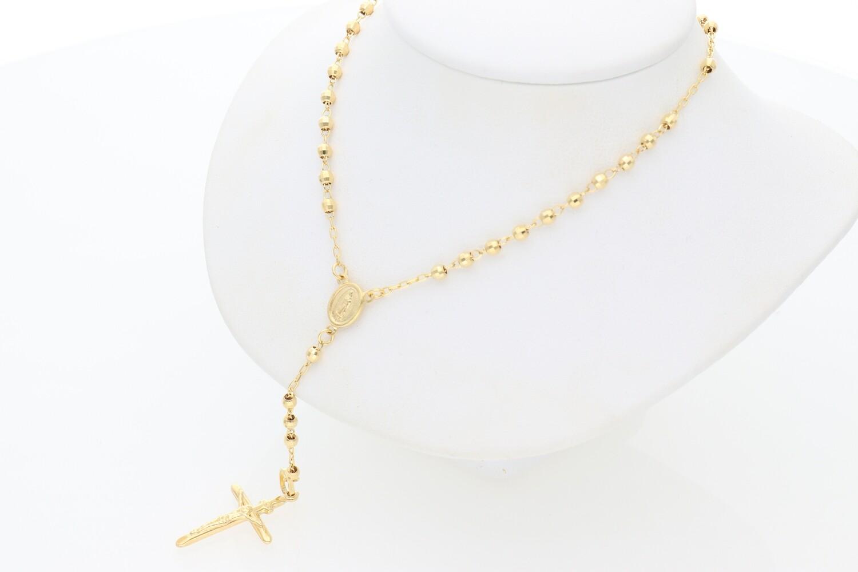 14 Karat Gold Rosary