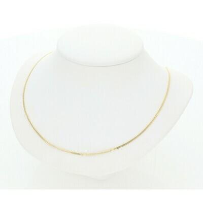 10 Karat Gold Miami Cuban Link Chain 1 Millimeter