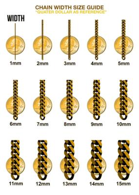 10 Karat Gold & Zirconium Big Tennis Bracelet