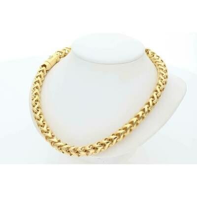 10 Karat Gold Franco Rondo Chain