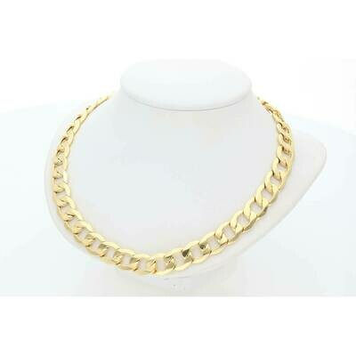 10 Karat Gold Italian Curb chain