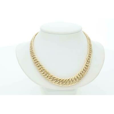 10 Karat Gold Princess Chain 7.7-18.4mm 18