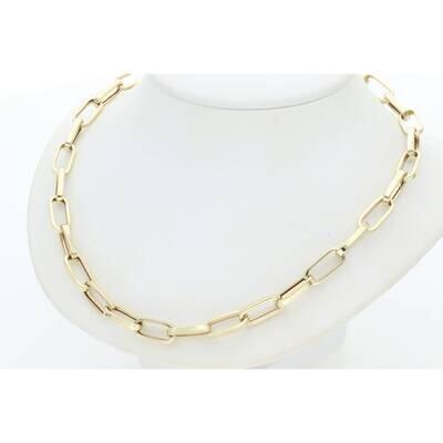 10 Karat Gold Thick Clip Chain