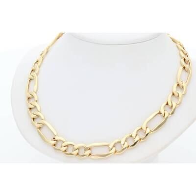 10 Karat Gold Figaro Chain