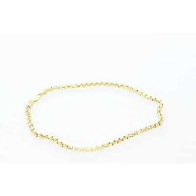 10 Karat Gold Venetian Anklets Bracelets