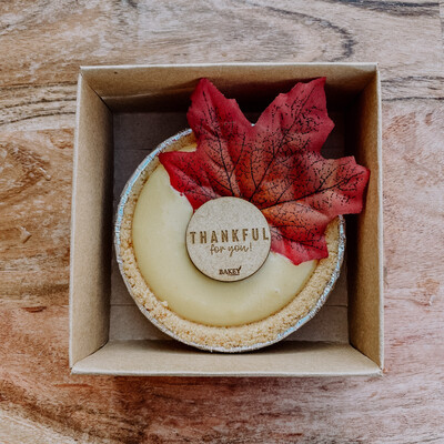 Thankful For You Mini Pie