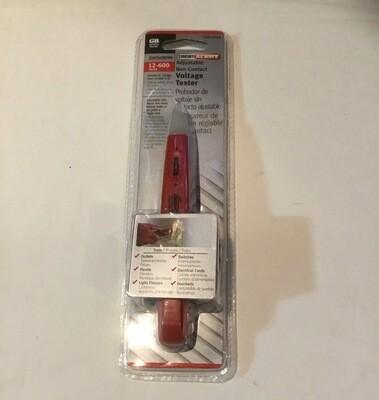 GB Adjustable Non-Contact Voltage Tester 12-600 Vac/Ca