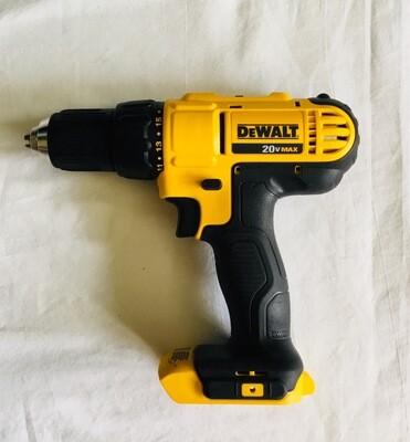 "DEWALT 20V Cordless 1/2"" Drill/Driver ( Tool Only) Model No.DCD771"