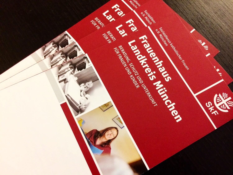 Informations-Flyer vom SkF München