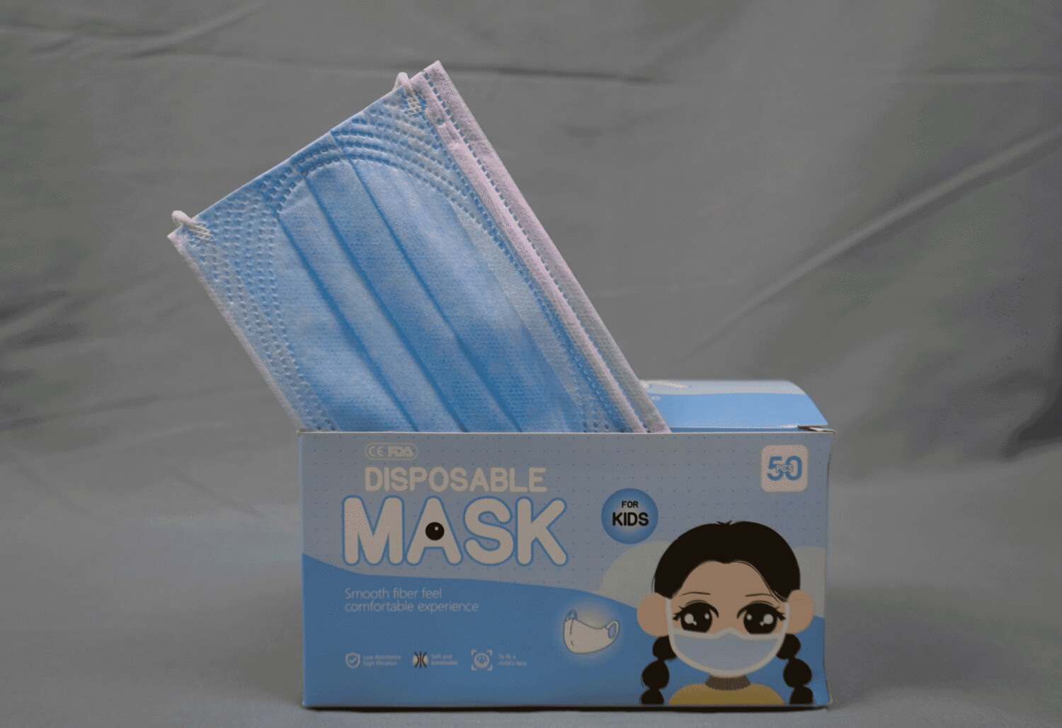 Disposable Child Face Mask 3ply