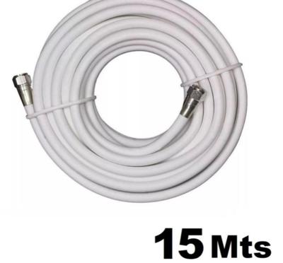 Cable coaxial por metro con conectores