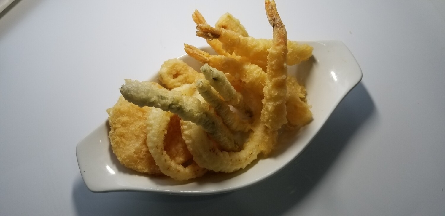 Vegetable & Prawn Tempura