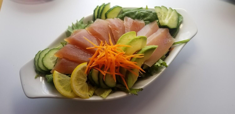 Tuna Sashimi Salad