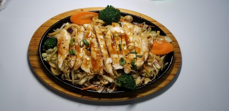 Chicken Yakiudon