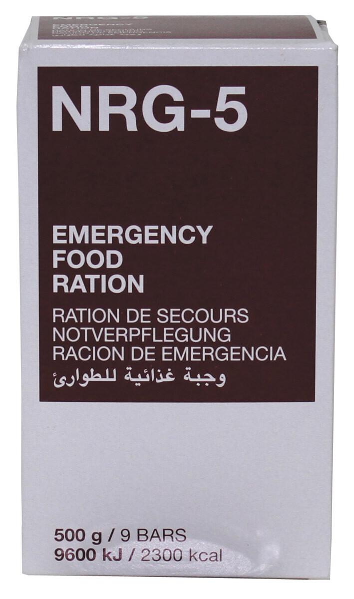 MFH - NOTVERPFLEGUNG, NRG-5, (9 RIEGEL)