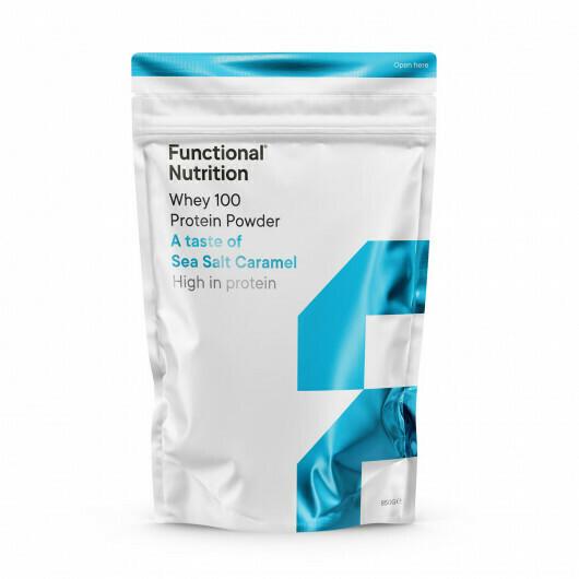 Whey 100 Protein Powder (850g) - Sea Salt Caramel