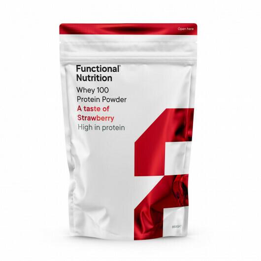 Whey 100 Protein Powder (850g) - Strawberry
