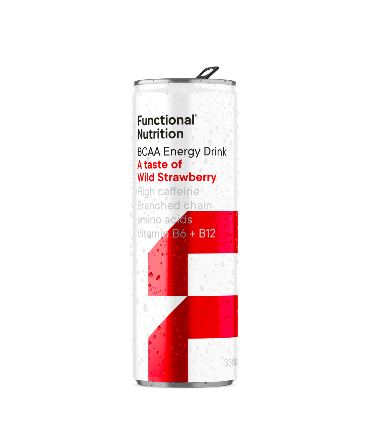 BCAA Energy Drink 330ml - Wild Strawberry