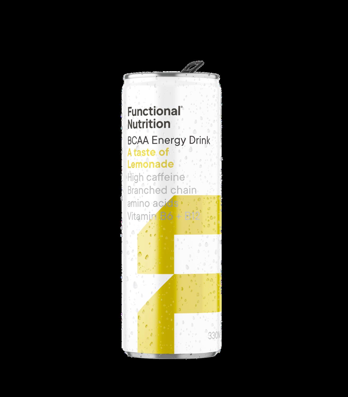 BCAA Energy Drink 330ml - Lemonade