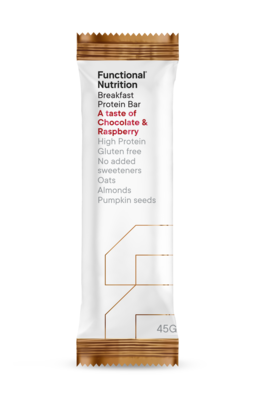 Breakfast Protein Bar 45g - Chocolate Raspberry