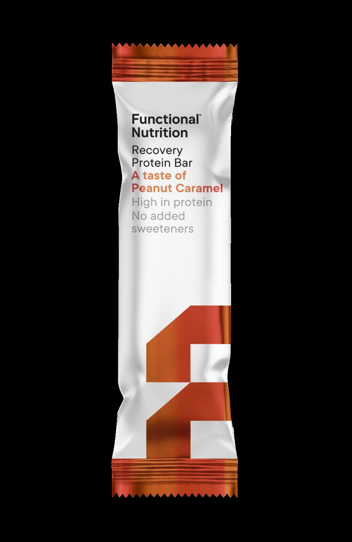Recovery Protein Bar 55g - Peanut Caramel