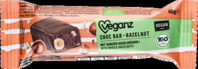 Choc Bar Hazelnut 40g
